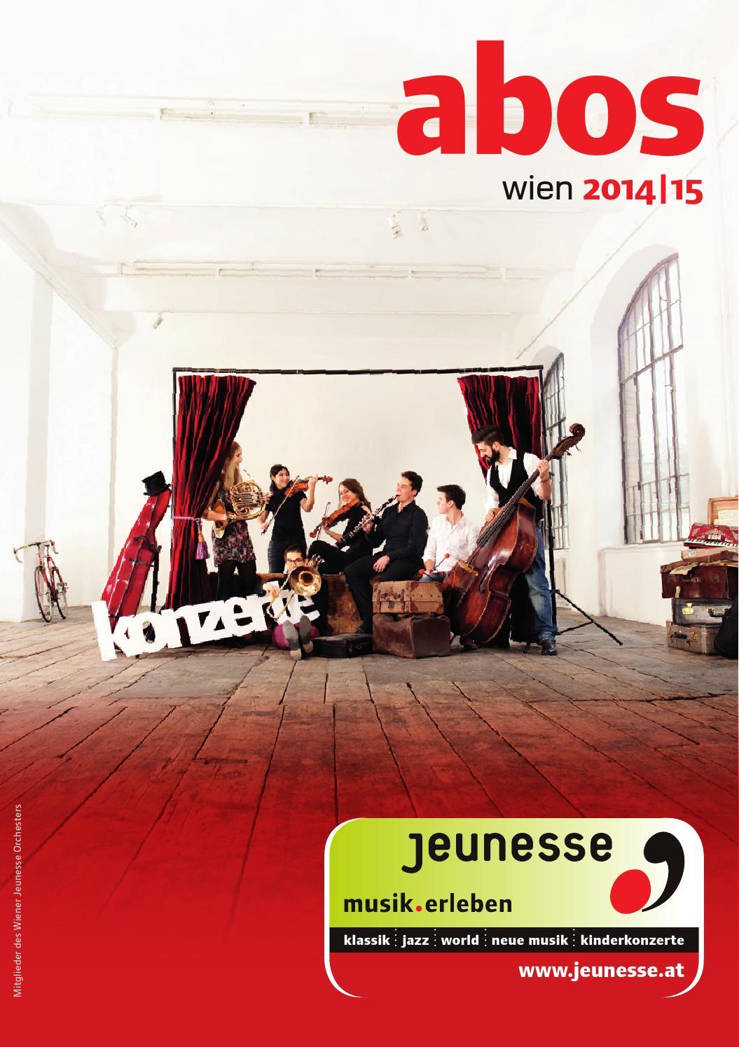 Jeunesse Wien Abos 2014 15 By Jeunesse Musikalische Jugend