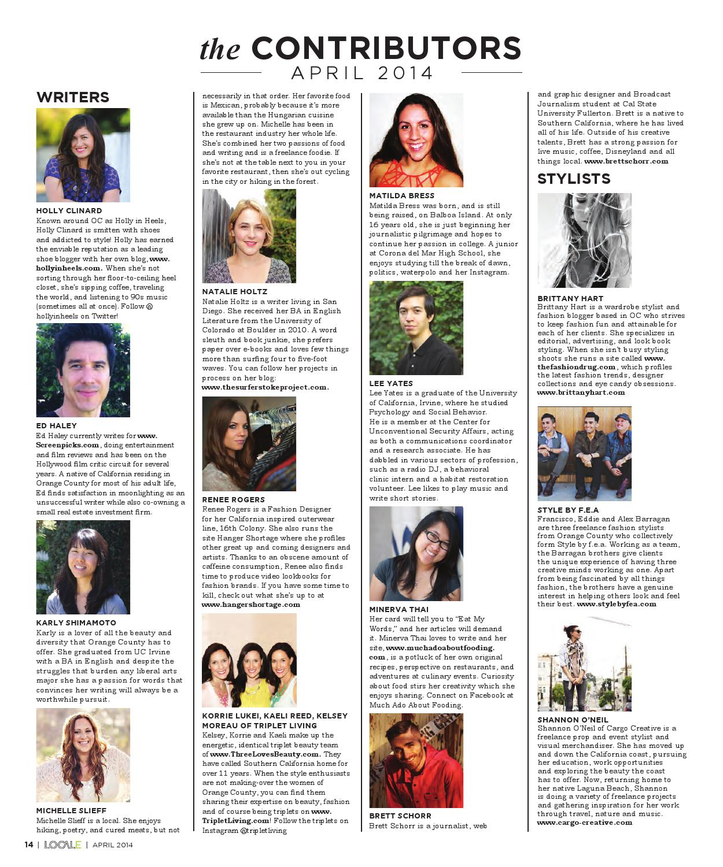Orange County April 2014 by Locale Magazine - issuu