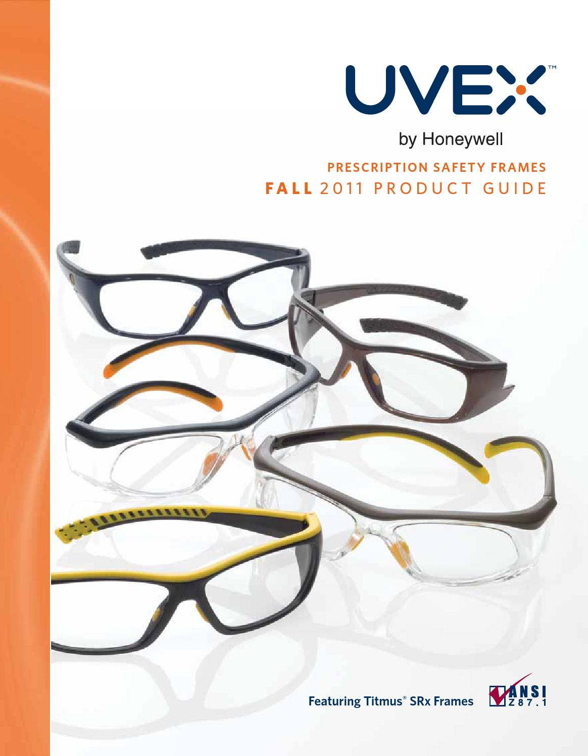 UVEX Prescription Safety Frames by Mallory Safety & Supply - issuu