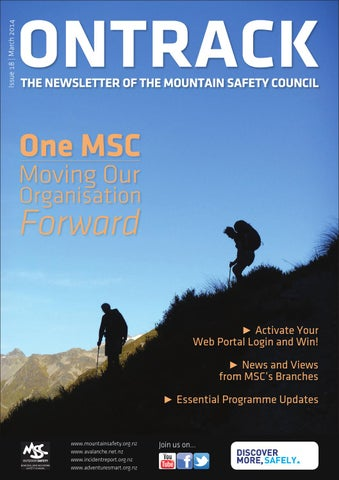 NZ Mountain Safety Council – OnTrack Newsletter by New