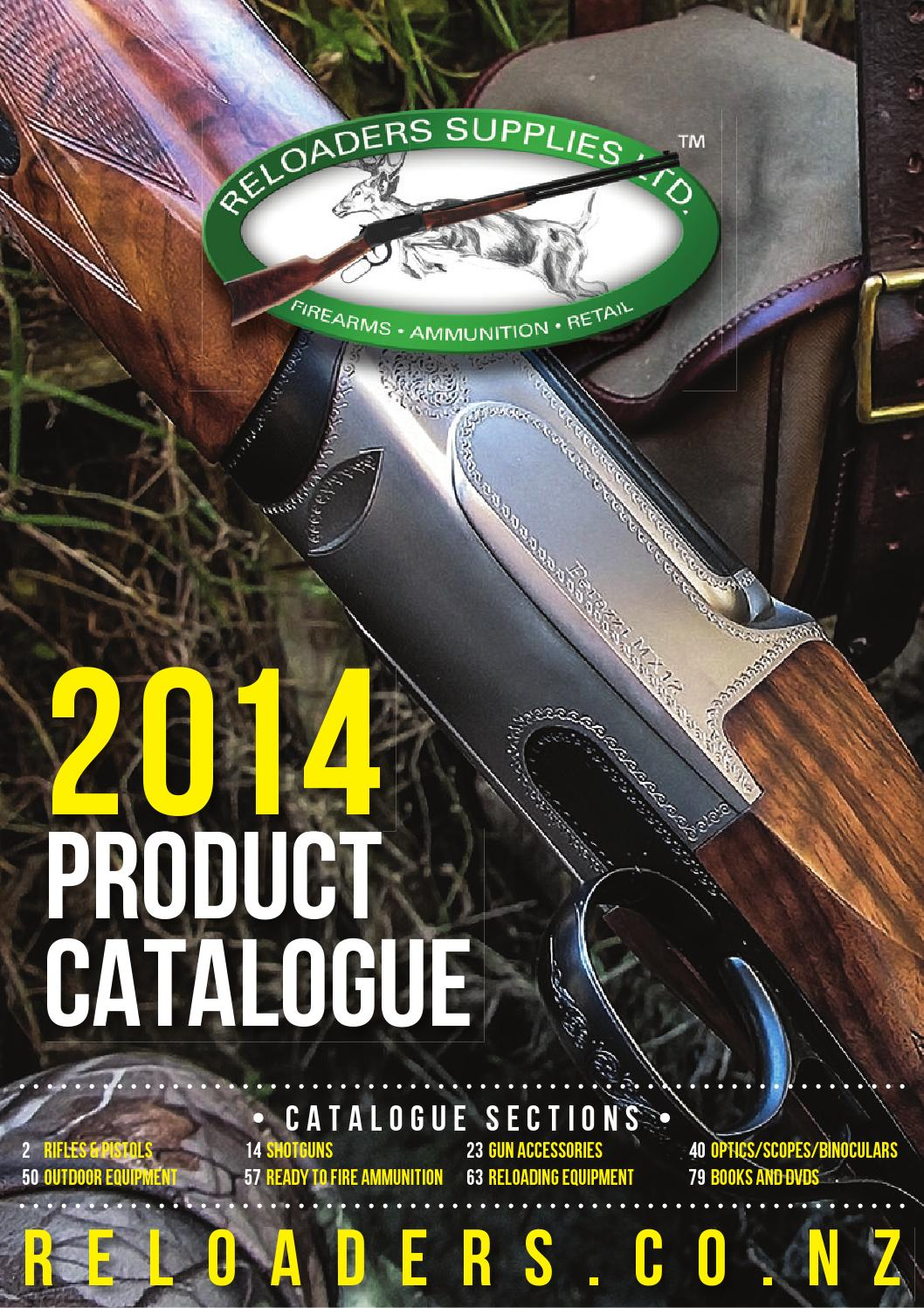 Reloaders 2014 Product Catalogue by Hurst Media Ltd - issuu