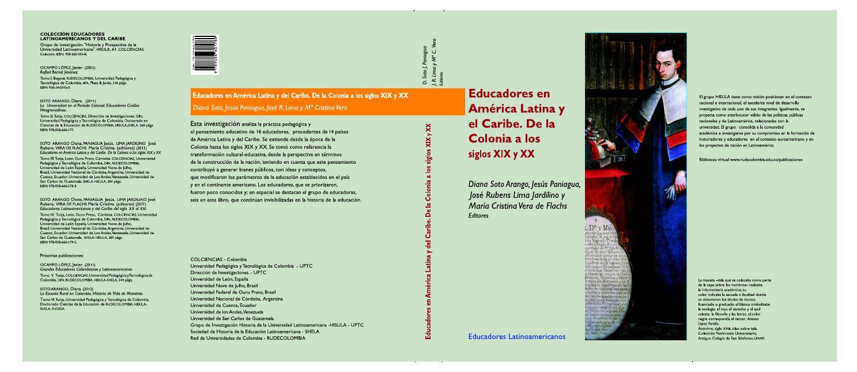 e1b15ba682e Tomo iii educadores en américa latina y el caribe de la colonia a los  siglos xix y xx by Grupos de Investigacion HISULA - ILAC -PUBLICACIONES- -  issuu