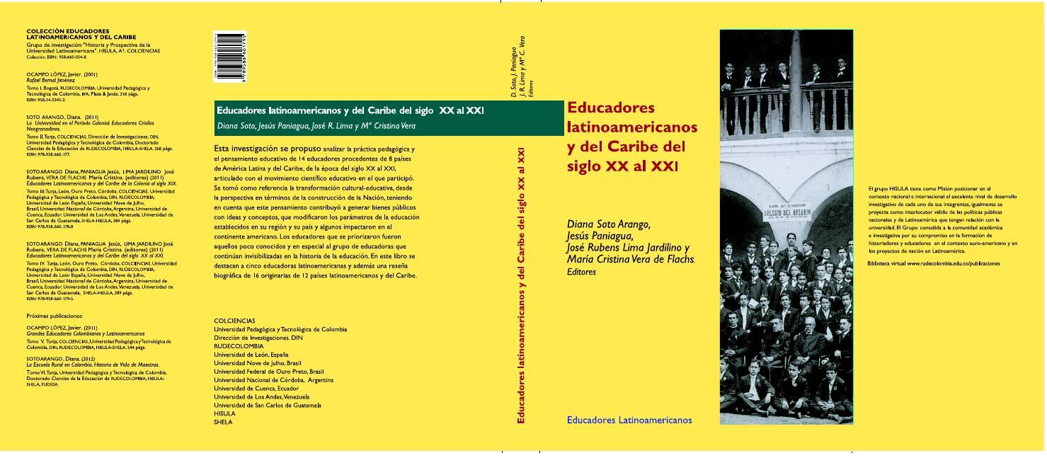 Tomo iv educadores latinoamericanos y del caribe siglos xx al xxi by Grupos  de Investigacion HISULA - ILAC -PUBLICACIONES- - issuu c6db1ce1095