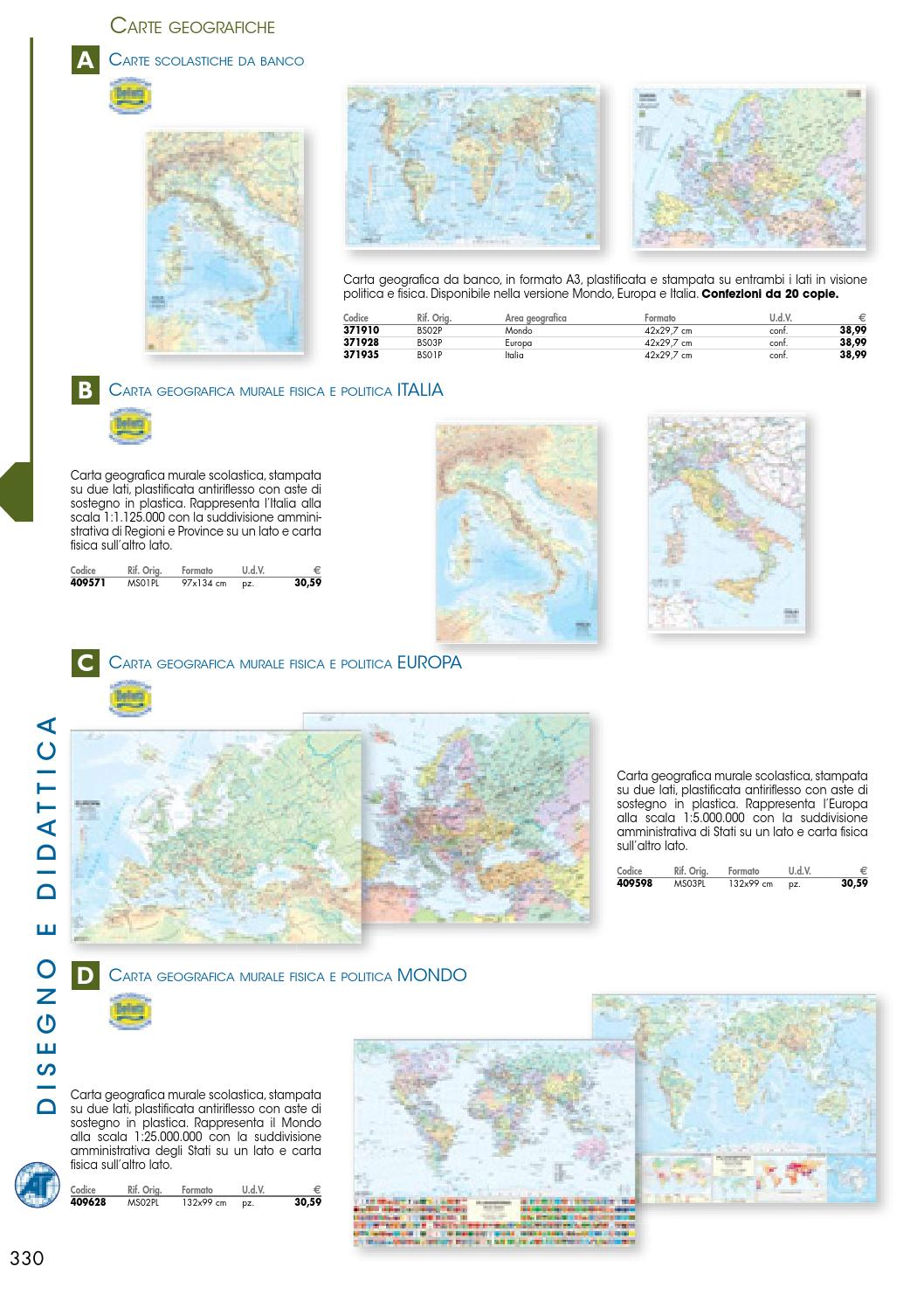 Cartina Politica Italia Formato A3.Catalogo 2014 1 Parte By Caprioli Solutions Srl Issuu