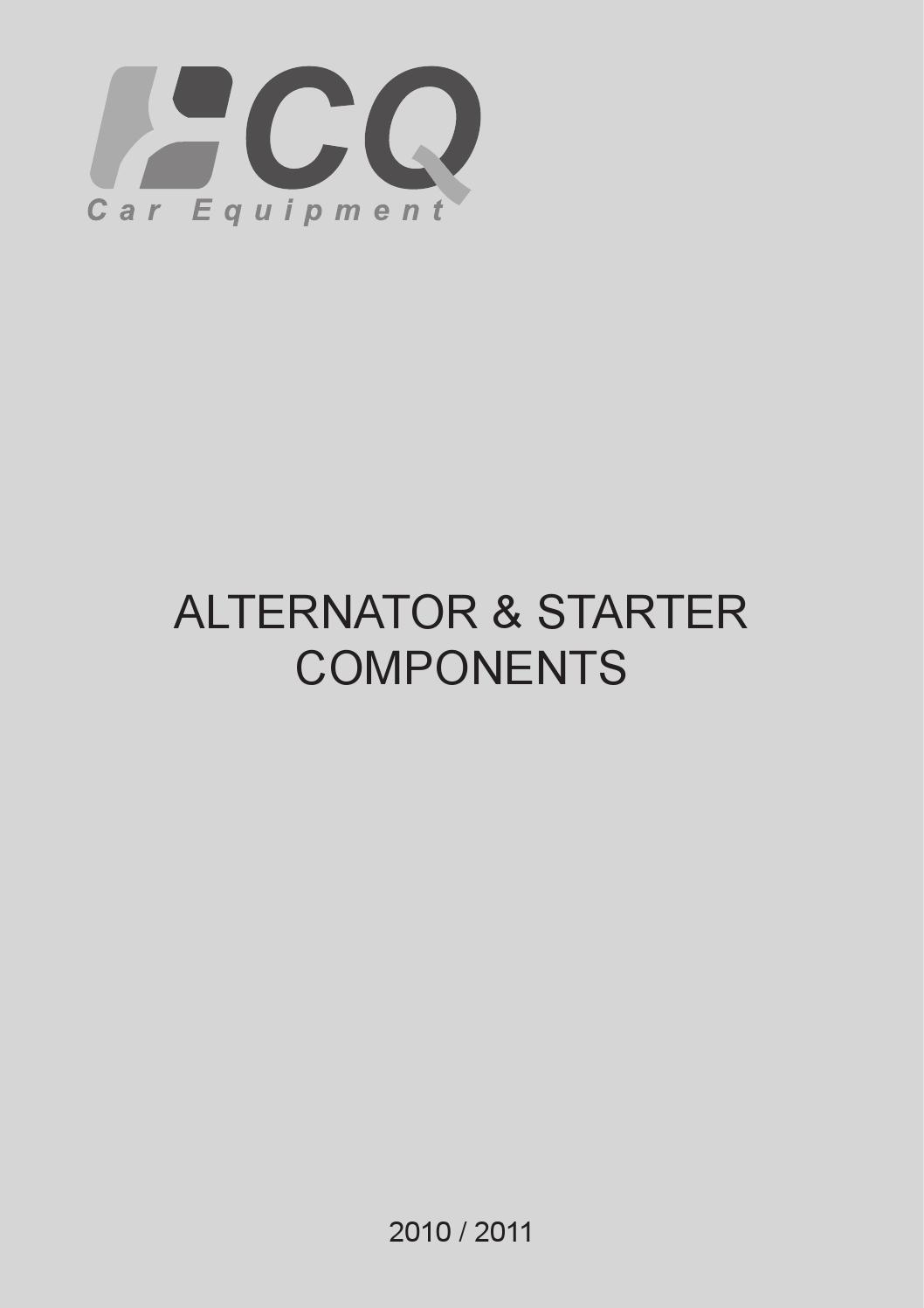 Catalogue CQ by inter cars slovensko - issuu