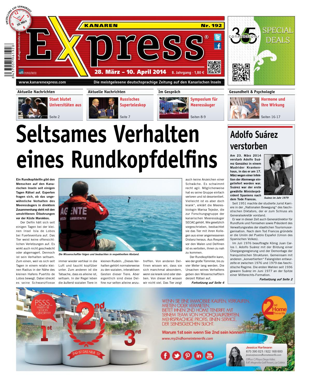 Kanaren Express 192 by Island Connections Media Group - issuu