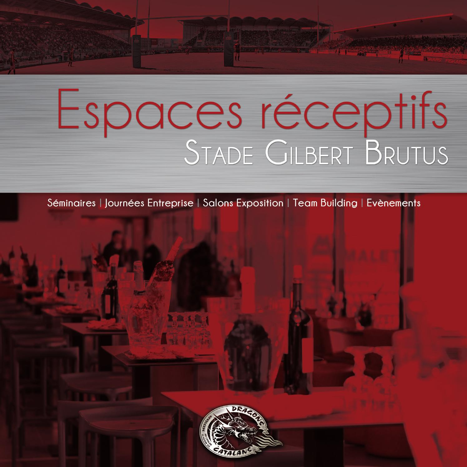 Dragons catalans espaces r ceptifs 2014 by square partners s a issuu - Piscine gilbert brutus perpignan ...