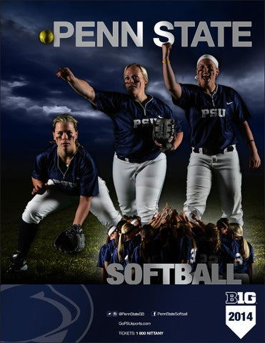 2014 Penn State Softball Yearbook By Penn State Athletics Issuu