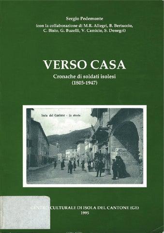 Verso Casa di Sergio Pedemonte by Zonderwater Pow - issuu ec679a1dcd9