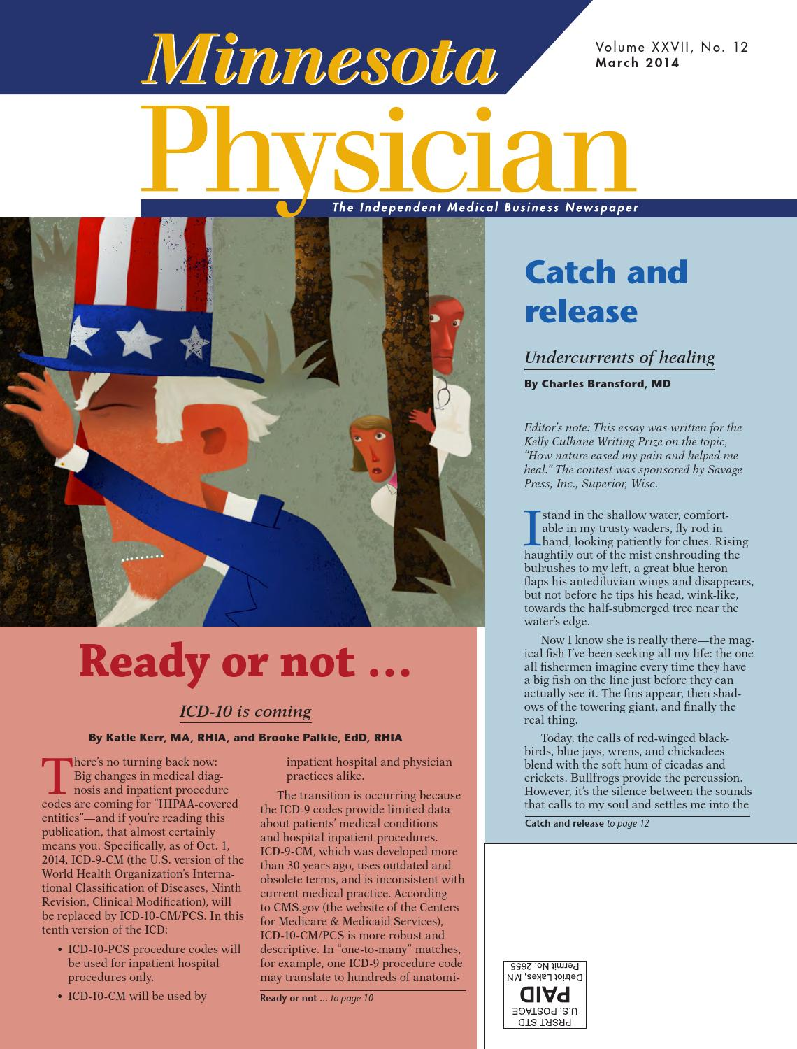 Minnesota Physician March 2014 by Minnesota Physician