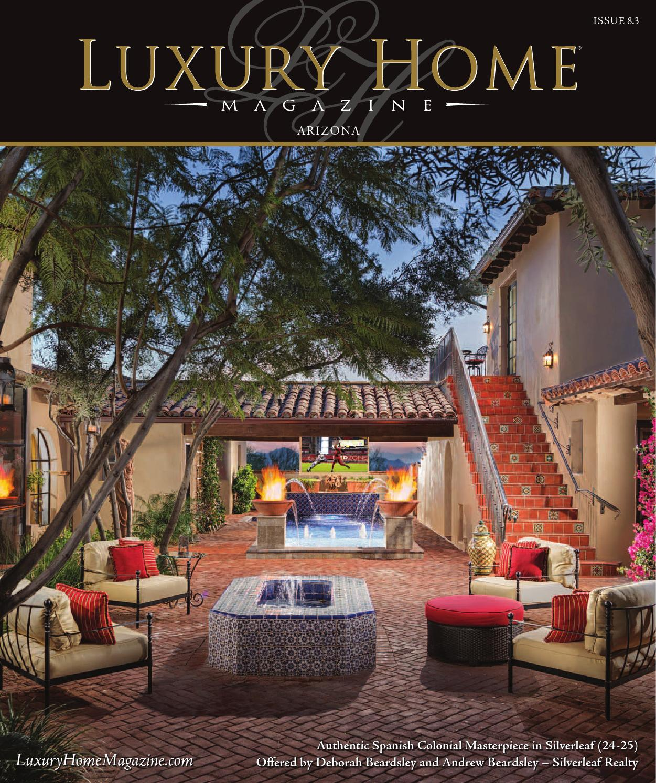 luxury home magazine arizona issue 8 3 by luxury home magazine issuu. Black Bedroom Furniture Sets. Home Design Ideas