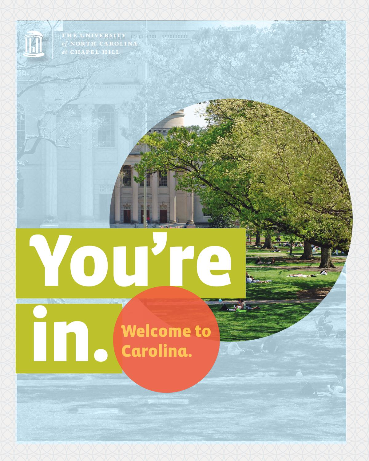 unc-ch 2014 admitted students brochure for transfers by university