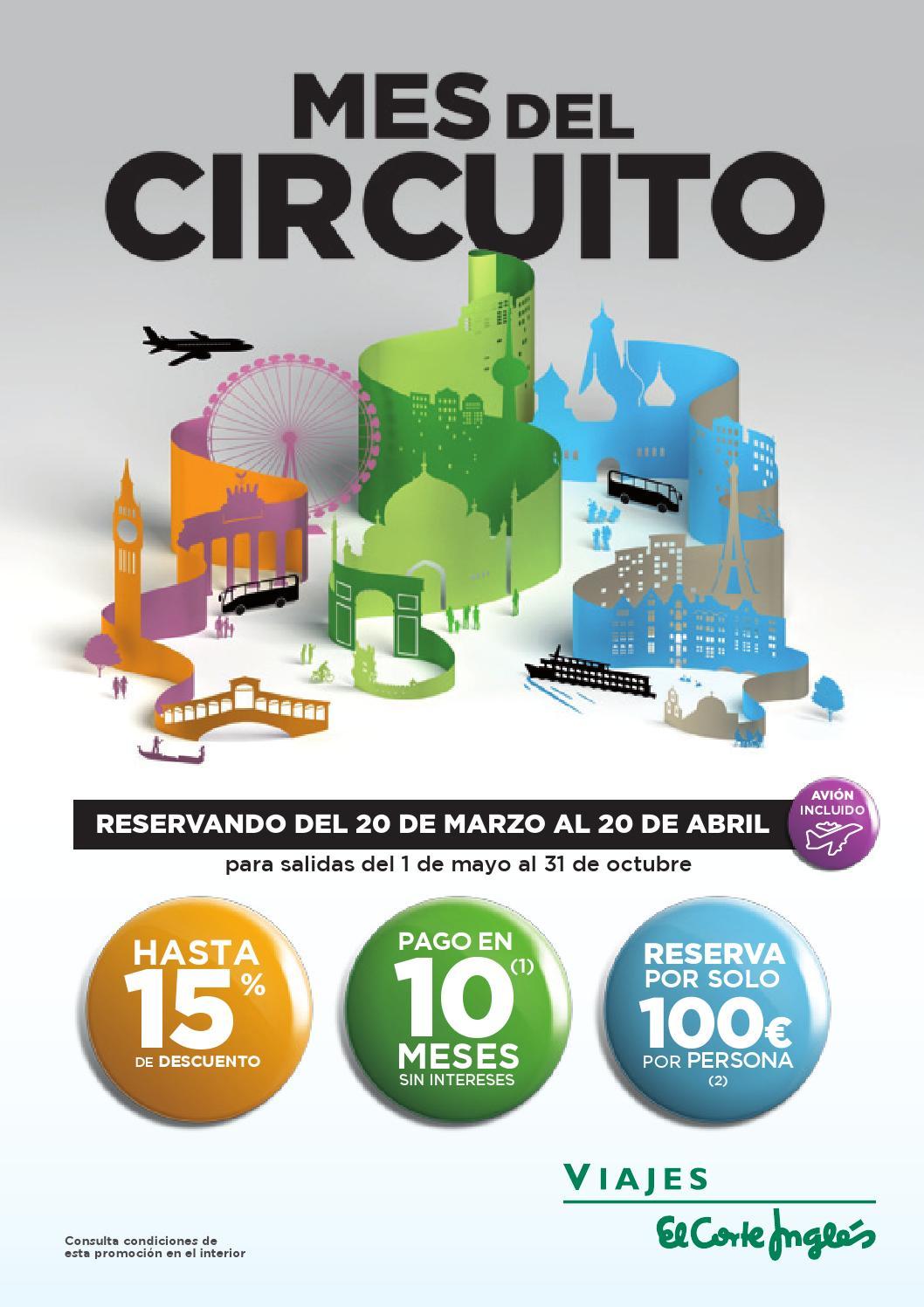 Viajes El Corte Inglés Mes Del Circuito 2014 By André Gonçalves Issuu