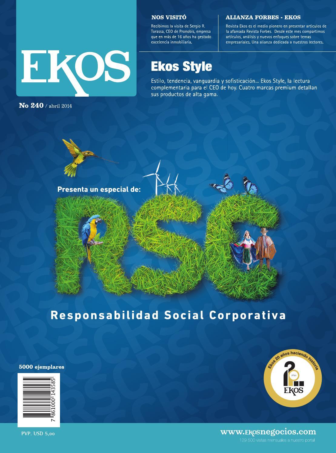 Revista Ekos - RSC by Ekos - issuu 4531322835
