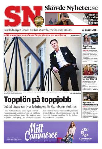 b95be80491cd Skövde Nyheter.se sidan 11 Därför valde Robert Wells Skövde. Lokaltidningen  för alla hushåll i Skövde. Telefon 0500-78 48 ...