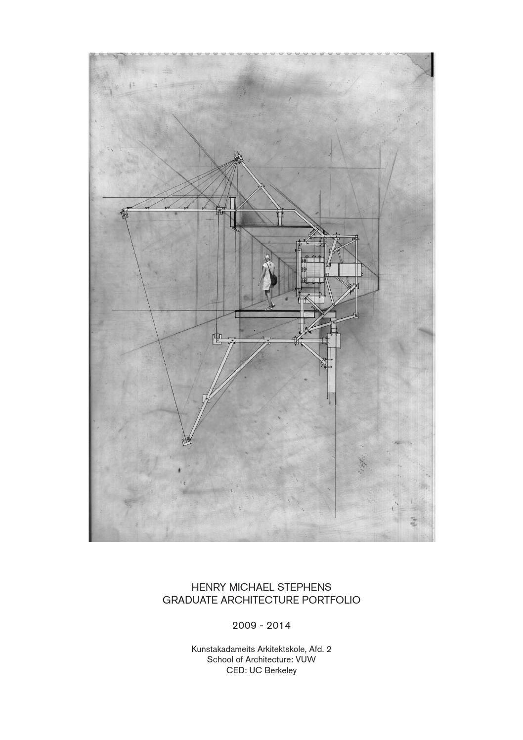henry stephens   graduate architecture portfoliohenry stephens