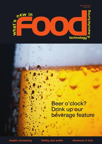 What's New in Food Technology Mar/April 2014 by Westwick-Farrow
