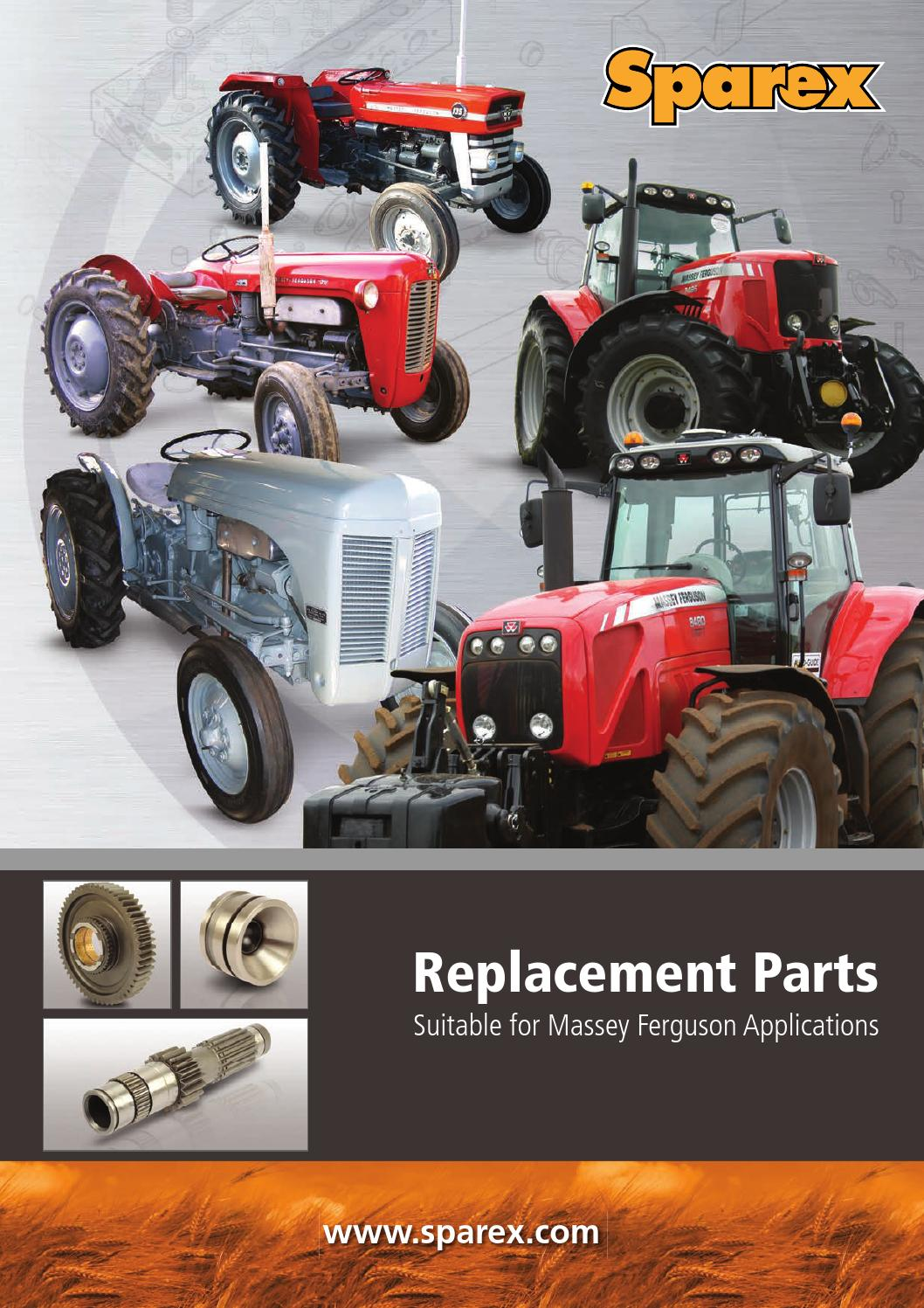 1851618M2 Steering Cylinder End Fits Massey Ferguson Tractor 135 148 230 240 250