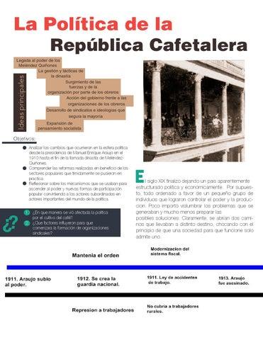 La pol tica de la rep blica cafetalera by constanza diaz - Republica de las ideas ...