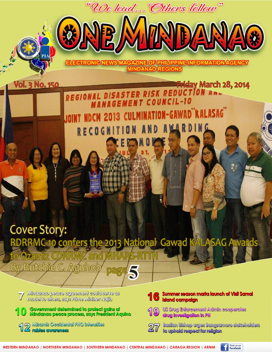 One Mindanao March 28 2014 By Pia Mindanao Issuu