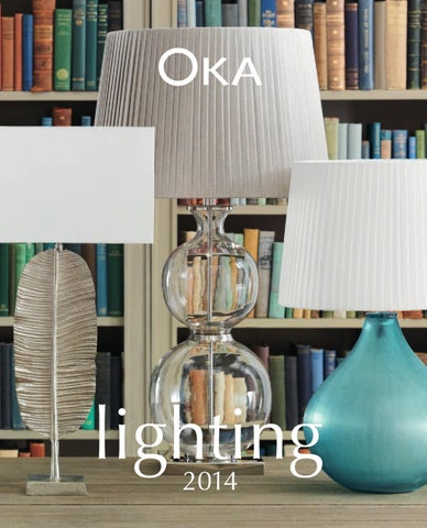 Oka lighting 2014 by oka direct issuu page 1 aloadofball Images