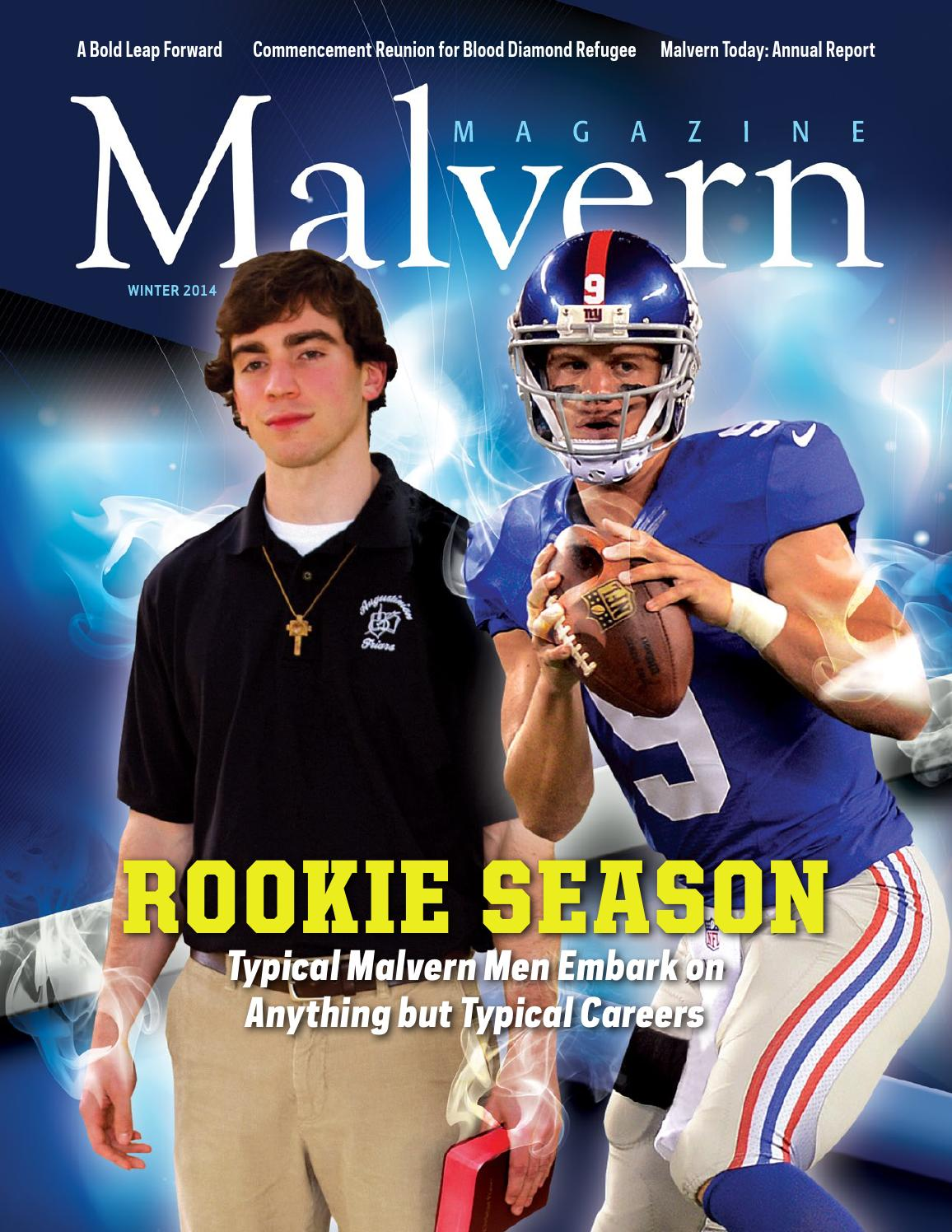 Malvern Magazine - Winter 2014 by Malvern Preparatory School - issuu f49f07d70