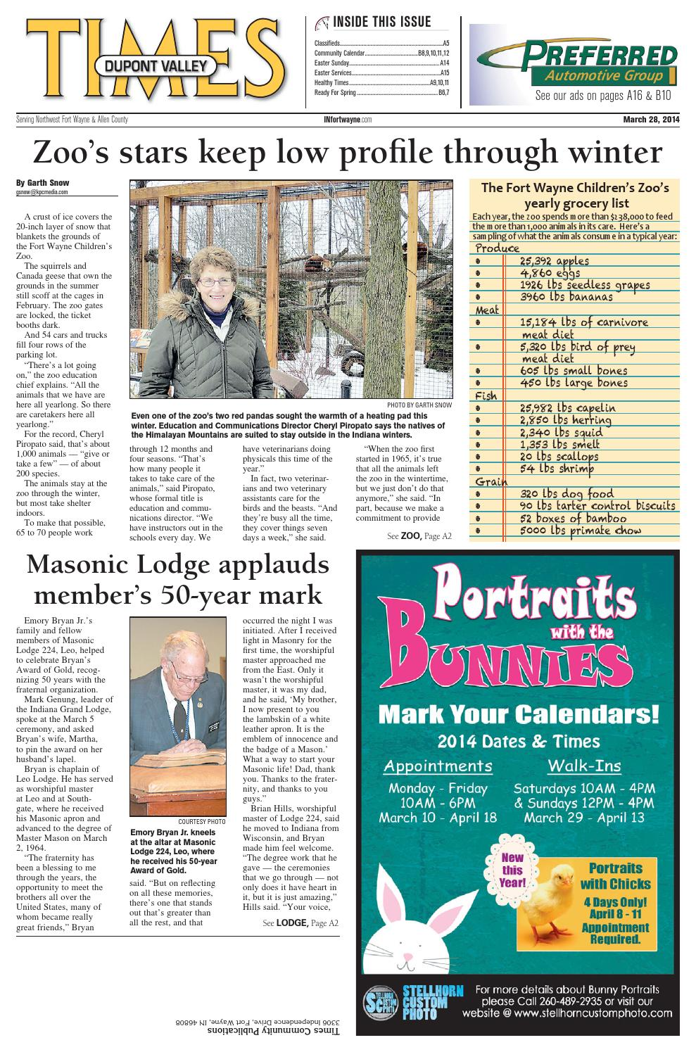 Dupont Valley Times - March 2014 by KPC Media Group - issuu