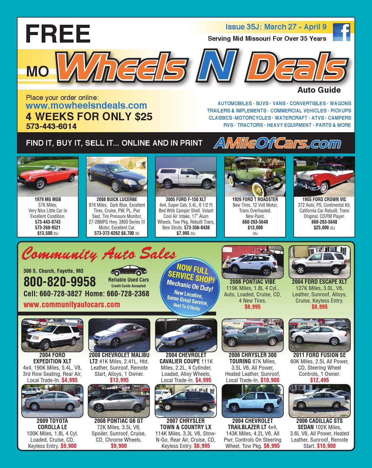 Wheels N Deals Issue 35j By Maximum Media Inc Issuu Basic Remote Start Walkthrough On Your Nissan Infiniti Vehicle