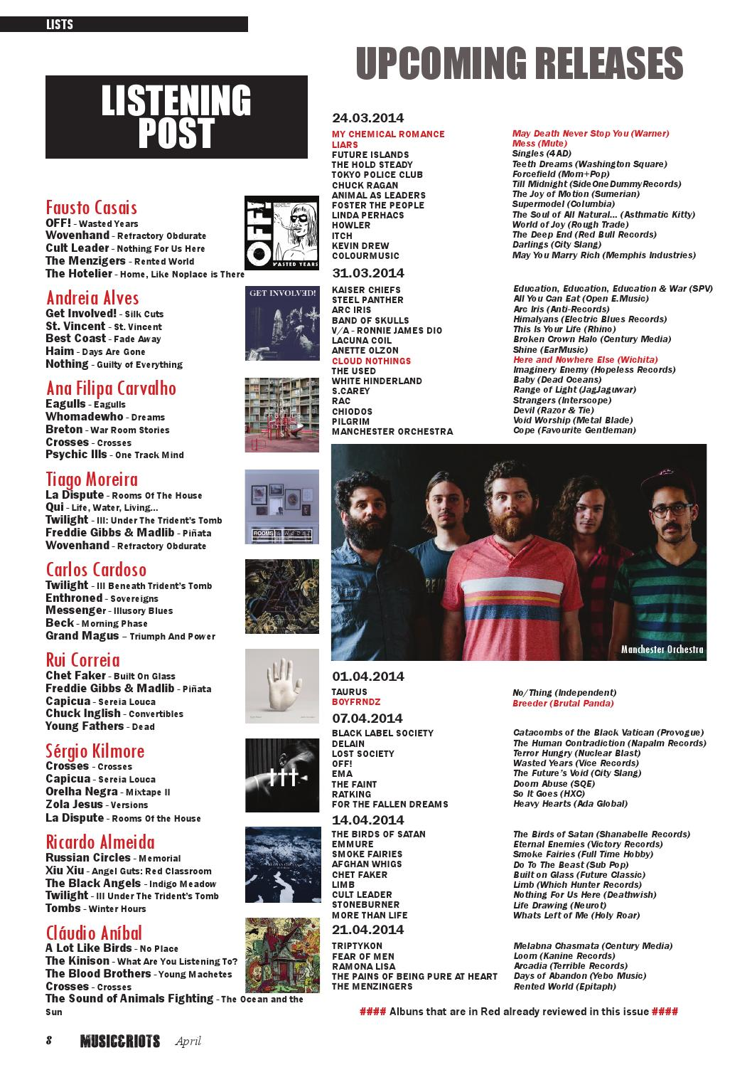 MUSIC&RIOTS Magazine 01 by MUSIC&RIOTS Magazine - issuu