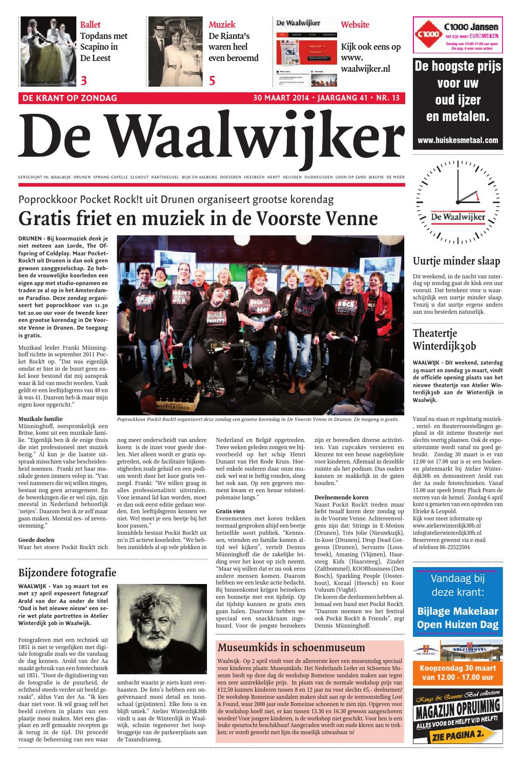 b10a74dbf33 Ww week13 2014 by De Persgroep Nederland - issuu