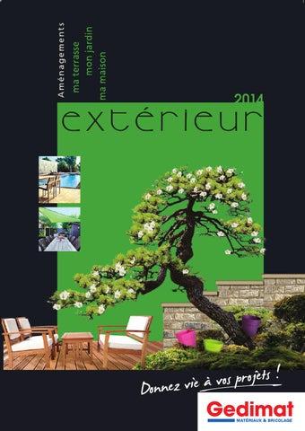Catalogue Gedimat Aménagements Extérieurs 2014 By Joe