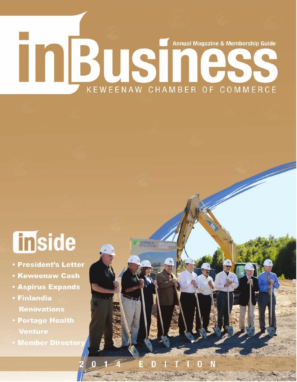 Michigan keweenaw county allouez - 2014 Keweenaw Chamber Inbusiness Magazine By Keweenaw Chamber Of Commerce Issuu