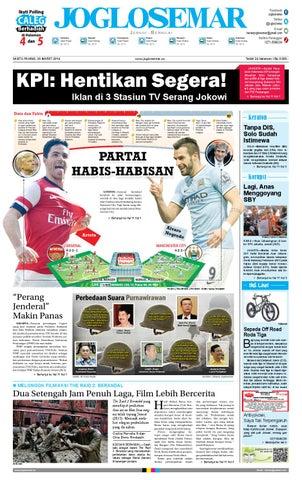 Epaper edisi 29 maret 2014 by PT Joglosemar Prima Media - issuu 0321f1a15c