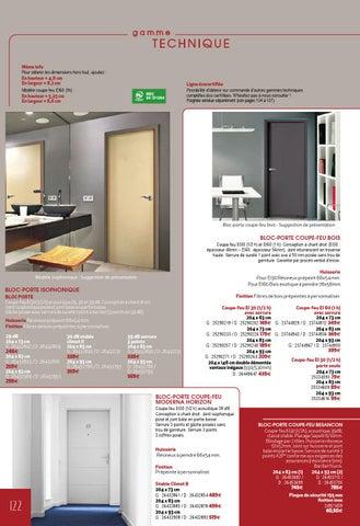 bloc porte isophonique gedimat. Black Bedroom Furniture Sets. Home Design Ideas