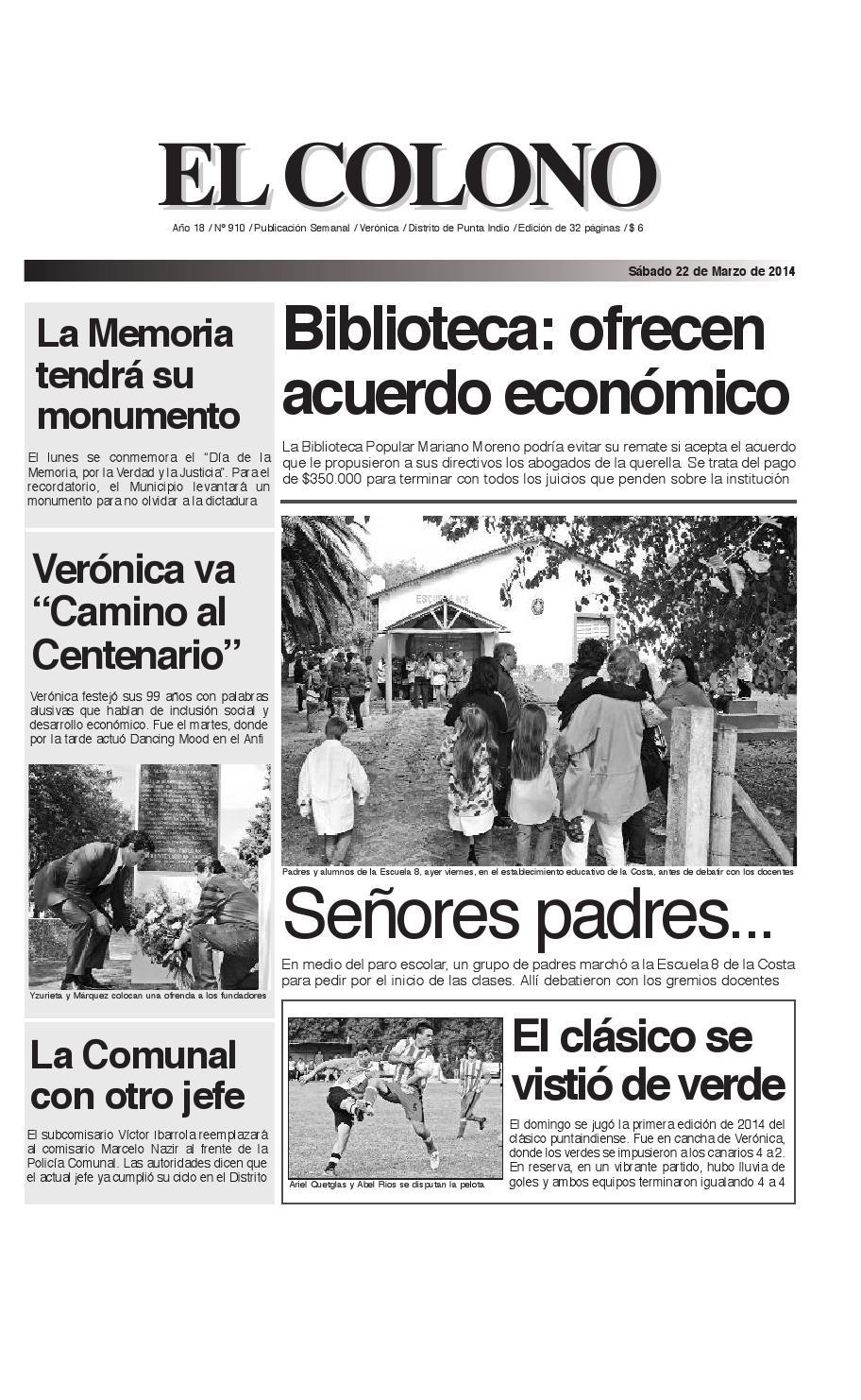 el-colono-22-03-14-de-24_el-colono-25-7-09-en-24 by El Colono de ...