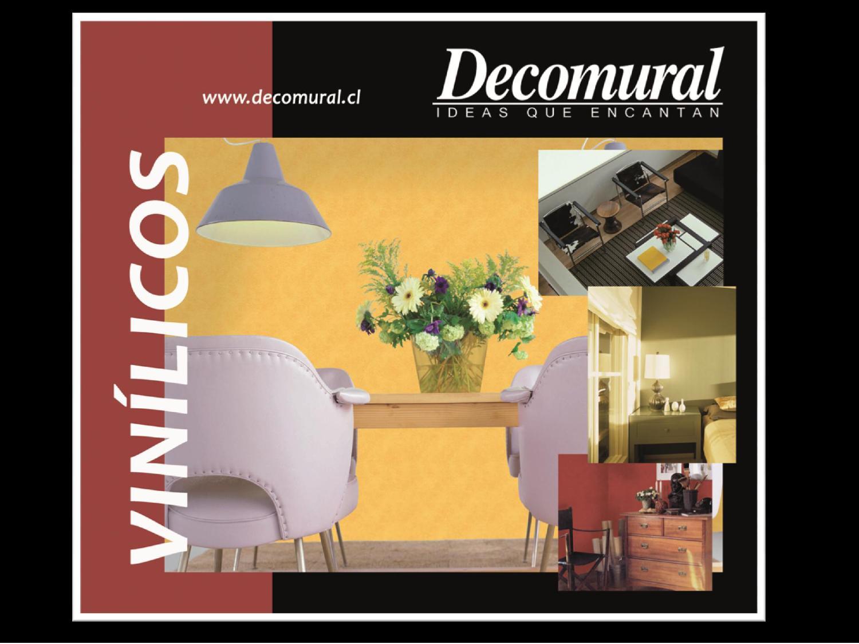 Decomural catalogo papeles vin licos by decomural issuu for Papeles vinilicos catalogo
