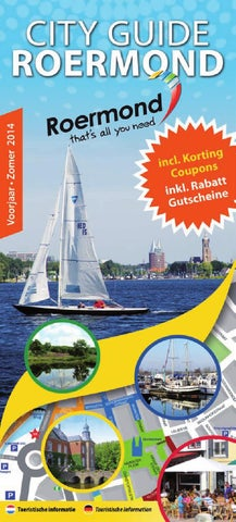 City Guide Roermond Voorjaar 2014 by City Guide Roermond issuu