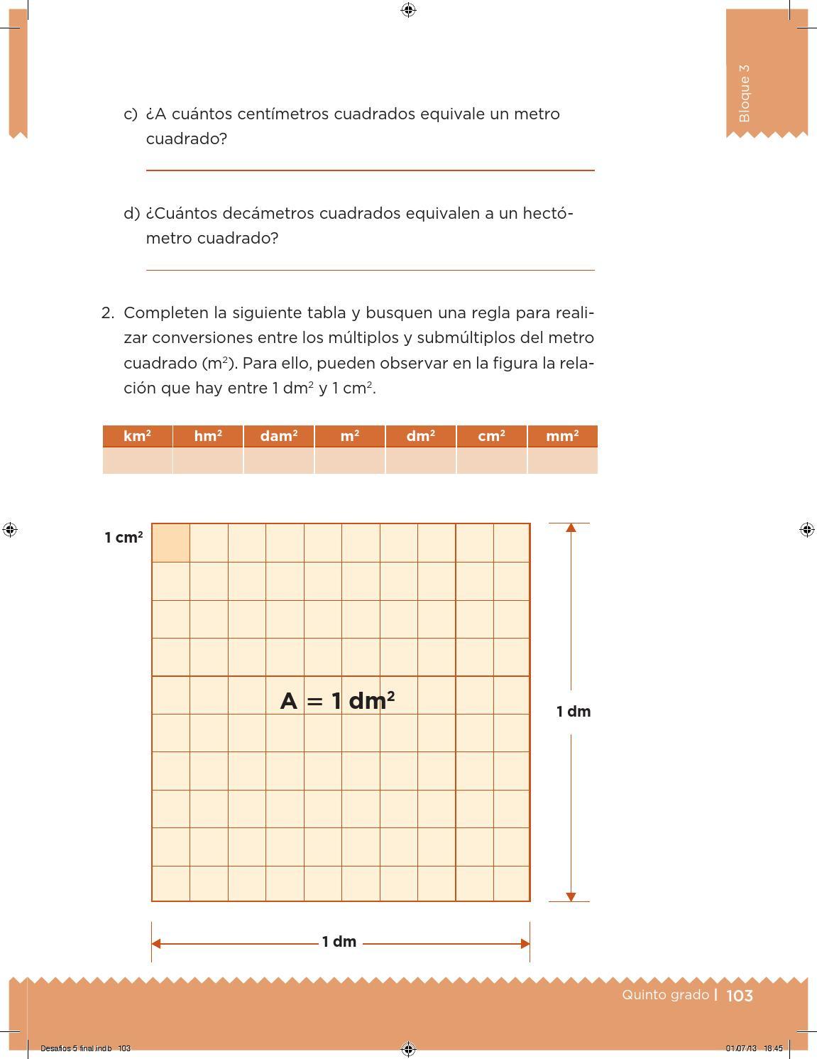 Desafios Matematicos Quinto Primaria Quinto Grado Alumnos By Gines