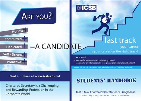 Student handbook by ICSB - issuu