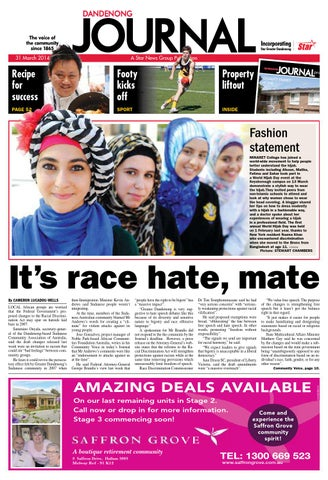 223715e4e0637 Dandenong Journal Star - 31st March 2014 by Star News Group - issuu