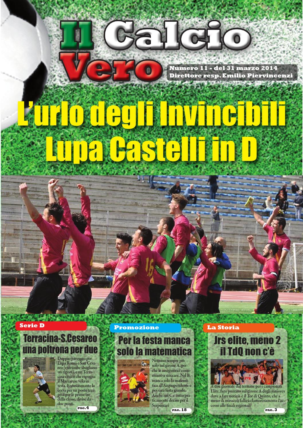 Calciovero 11 Def By Ilcalciovero Issuu
