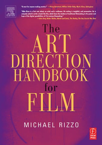 Art Direction Handbook For Film By Ariada Chavez Issuu