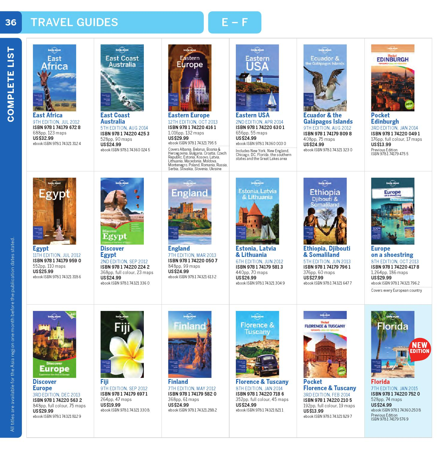 Pdf lonely a planet on 2011 europe shoestring