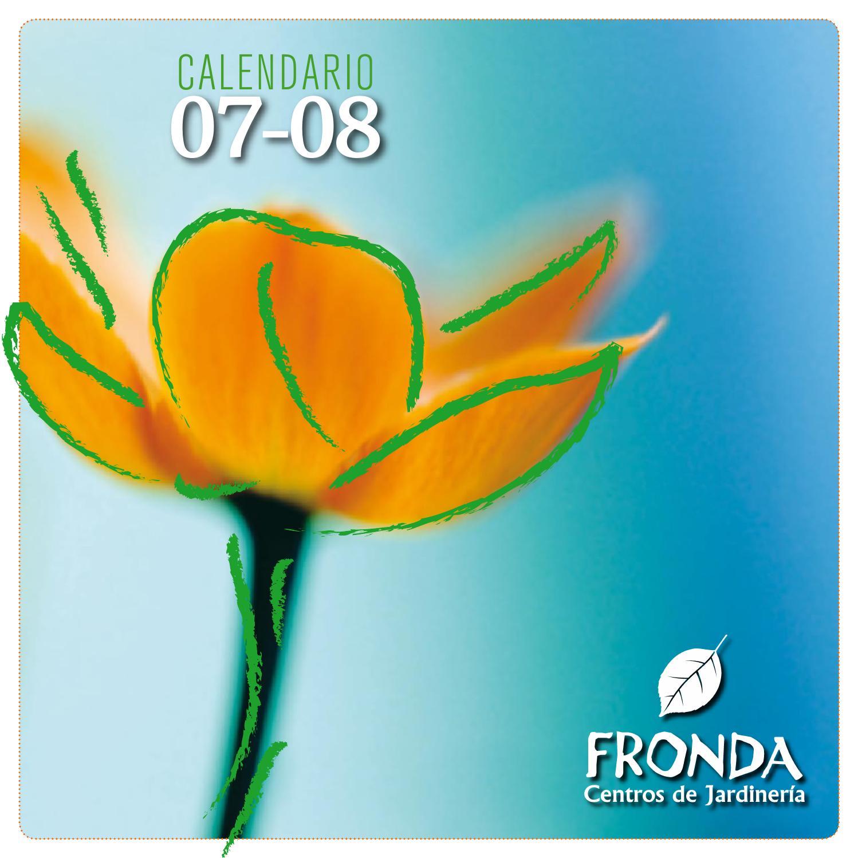 Fronda Muebles De Jardin.Calendario Fronda 07 08 By Kris Issuu