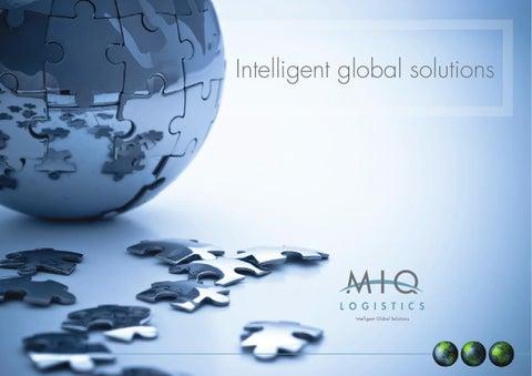 MIQ Logistics - Company Brochure by Matt Fullard - issuu