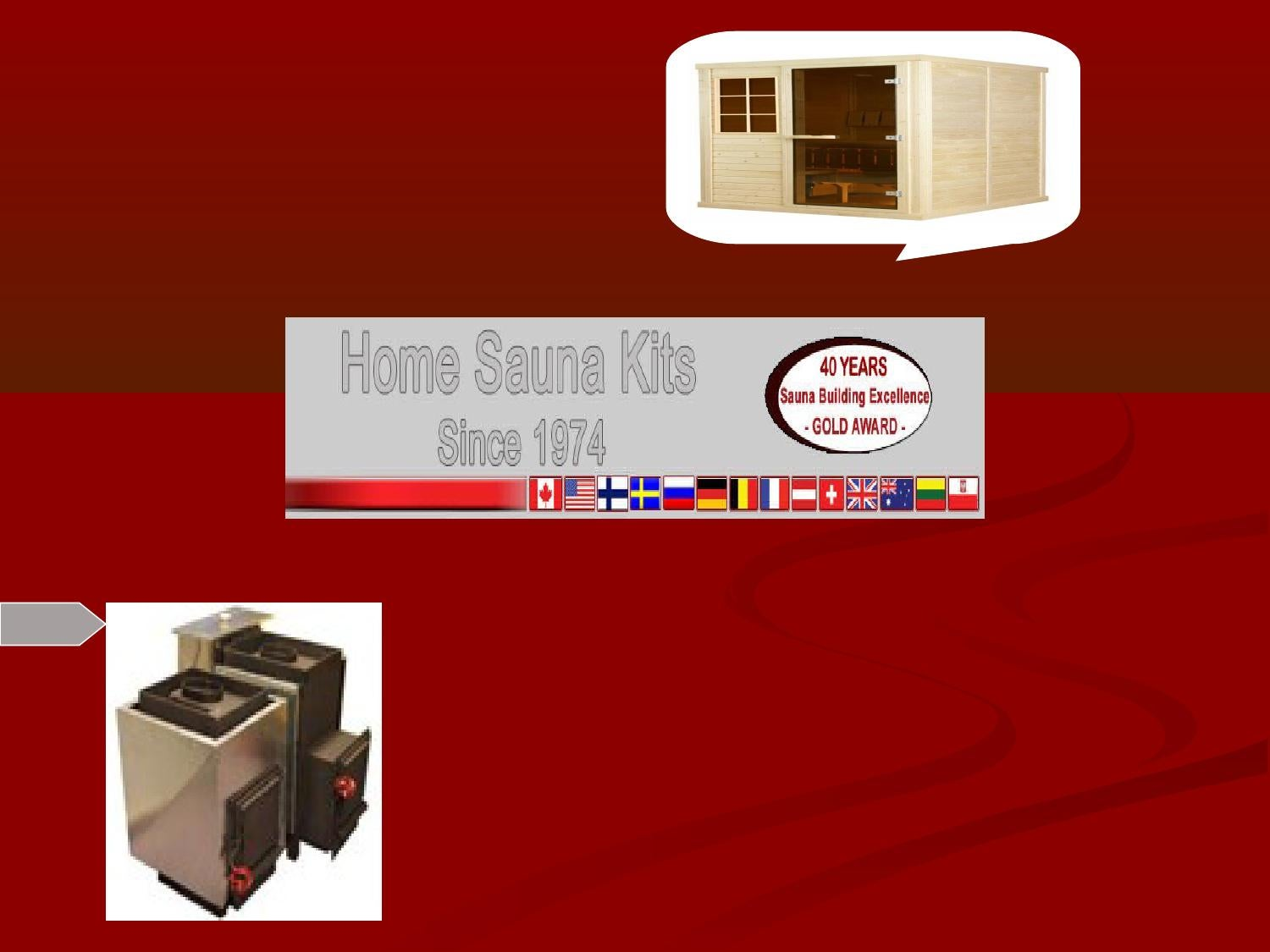 100 Remarquable Concepts Home Sauna Kits Since 1974