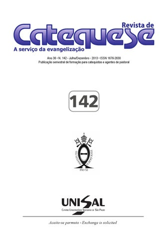 Revista de Catequese by UNISAL - issuu 41d68d3331336