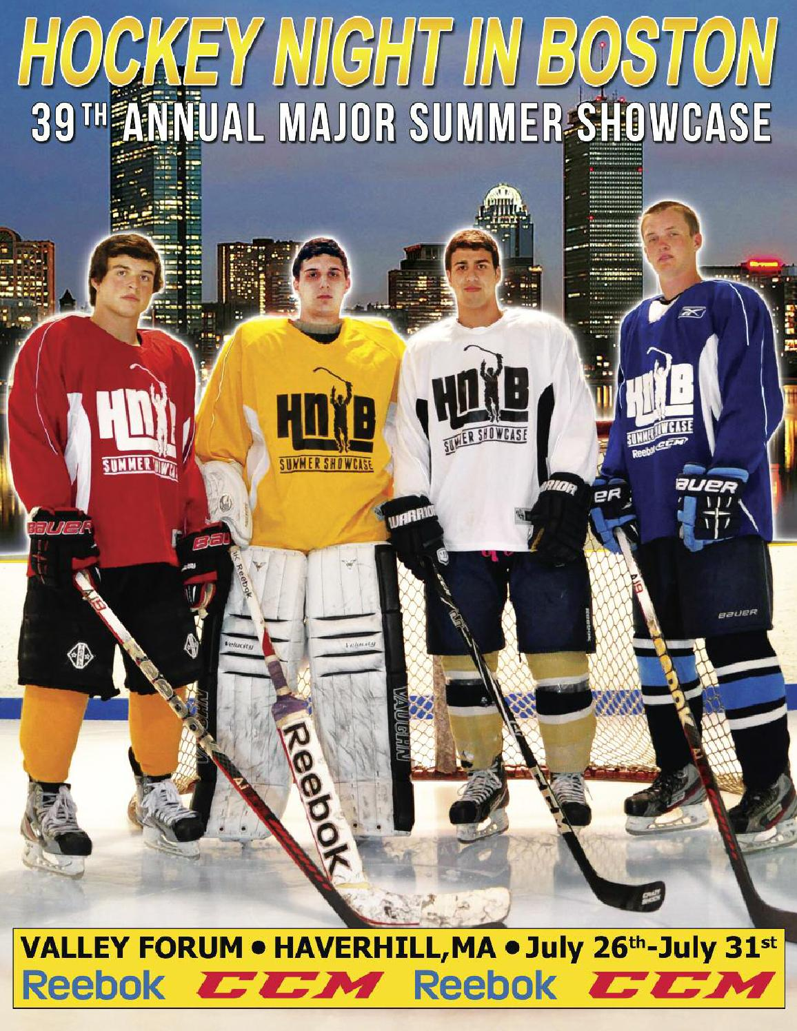 Hockey Night In Boston 2013 Boys Major Showcase Magazine