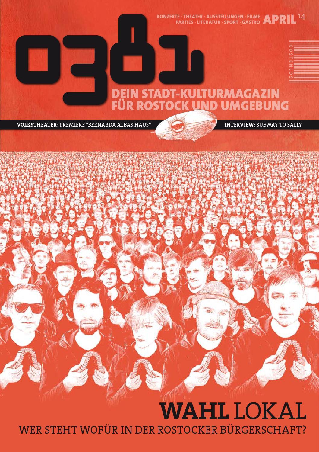 0381 – Dein StadtKulturmagazin für Rostock und Umgebung