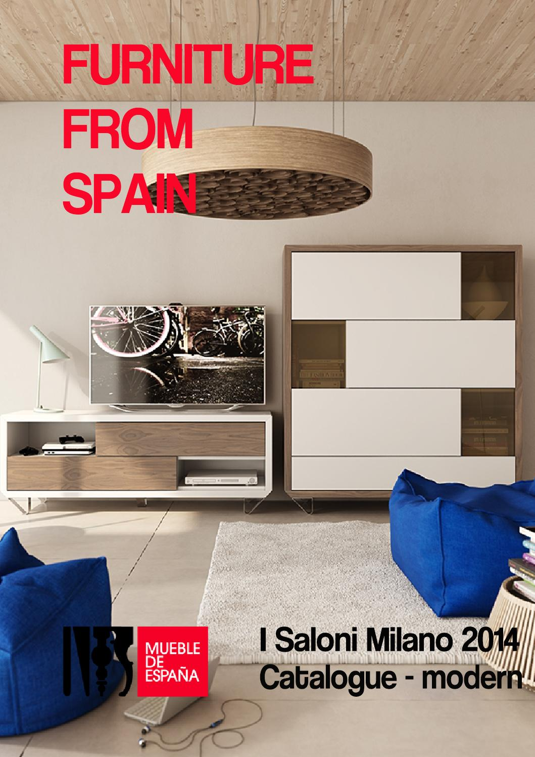 Catalogue Spain S Modern Furniture At I Saloni Milano 2014 By  # Muebles Ulldecona